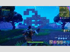 Heres my attempt of making the reddit logo in fortnite as