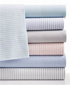 closeout martha stewart collection chambray 200 thread count cotton percale sheet sets only at