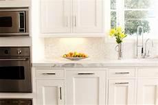 mini marble backsplash transitional kitchen lonni