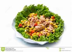 Thunfischsalat Mit Mais - thunfischsalat mit mais stockbild bild gastst 228 tte