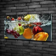 wandbilder glas glas bild wandbilder druck auf glas 100x50 deko essen