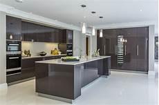modern kitchen interior design ideas contemporary minimal high gloss kitchen design in