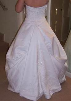 How To Make A Bustle On A Wedding Gown