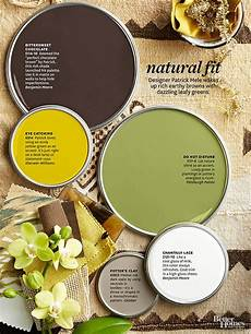 love the paint colors you saw in the better homes and