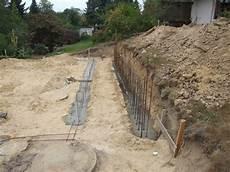 Garage Mauern Fundament by Garagenbau 1 Teil