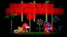 what happens if you choose to help sonic when tails and knuckles survives sonic exe soh youtube