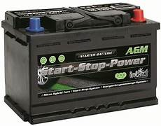 intact agm start stop power autobatterie agm760 12v 70ah