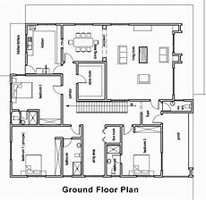 ghana house plans in 2020 bungalow floor plans house