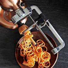 Spiralizer Kitchenaid Tool by Kitchenaid 174 Spiralizer Attachment Williams Sonoma