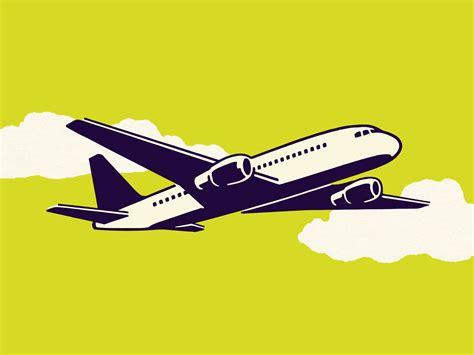 Animated Airplane Gif
