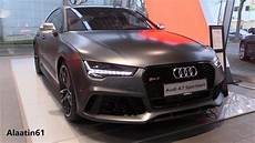 Audi Rs7 Performance 2017 In Depth Review Interior