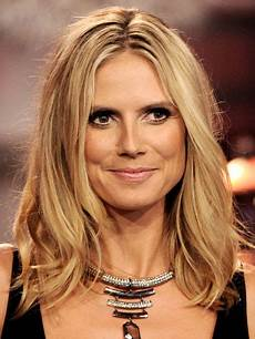 Heidi Klum Haare - works the 12 most requested hairstyles