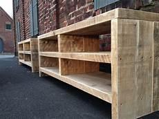 möbel selber bauen holz bauholz sideboard lowboard tv m 246 bel linnards