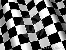 Racing Race Checkered Flag Background Royalty Free Stock