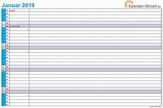 Malvorlagen Querformat Pdf Kalender 2019 Zum Ausdrucken Gratis Vorlagen Zum
