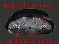 car maintenance manuals 2003 bmw 525 instrument cluster bmw e46 dash speedometer instrument gauge cluster repair service 3 series ebay