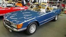 1981 mercedes 280 sl exterior and interior