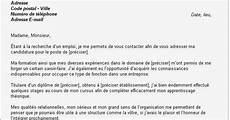 lettre de motivation pour un apprentissage lettre de motivation premier emploi lettre de motivation vendeuse