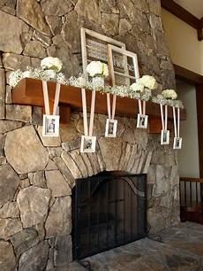 mantle decorations for wedding add a modern twist to the decoration decorate your mantle with