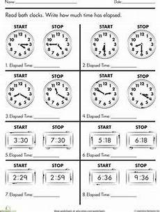 elapsed time worksheets 3rd grade number line 3658 9 best images of time zone worksheet 5th grade table elapsed time worksheets 4th grade