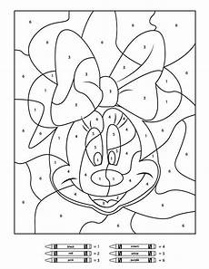 free simple color by number worksheets 16325 your children will these free disney color by number printables free printables for