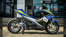 Modifikasi Yamaha Aerox by Modifikasi Yamaha Aerox 155 2017