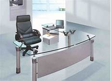 glass home office furniture glass office desk furniture decor ideas