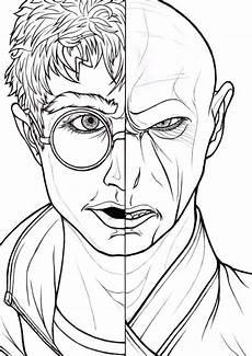 Ausmalbilder Zum Ausdrucken Harry Potter Ausmalbilder Harry Potter 150 St 252 Ck Drucken Sie A4
