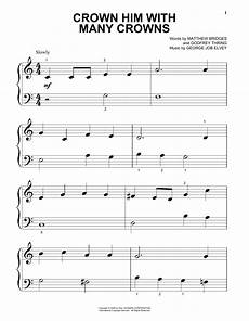 crown him with many crowns sheet music direct