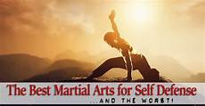 what are the best martial arts for self defense