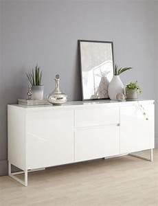 wohnzimmer sideboard white gloss modern sideboard livingroomsofaindustrial von