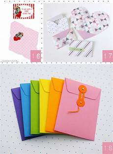 Faire Ses Propres Enveloppes Enveloppe Origami