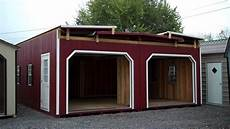 2 story 2 car modular garage youtube