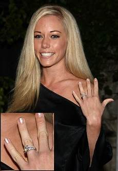 reality star kendra wilkinson s engagement ring is set in