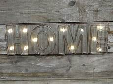 vintage extra large led light up wall art letters