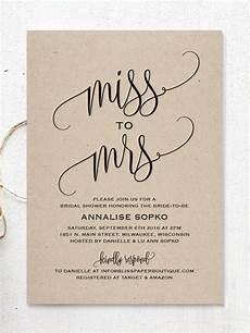 17 printable bridal shower invitations you can diy