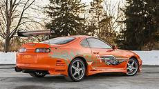 Original Fast And Furious Toyota Supra Sells For 185 000