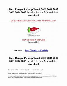 free car manuals to download 2002 ford ranger auto manual ford ranger pick up truck 2000 2001 2002 2003 2004 2005 service repair manual free download by