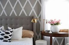 Painting A Pattern On A Wall Rustic Crafts Chic Decor
