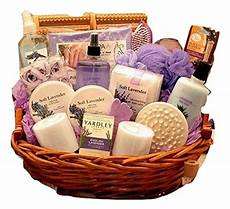 Bathroom Gift Ideas Calming Lavender Bath And Gift Basket For