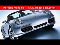 free auto repair manuals 2010 porsche boxster head up display porsche boxster workshop repair manual youtube