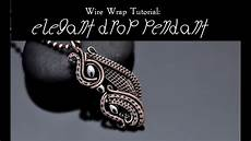 Wire Wrap Tutorial Drop Pendant