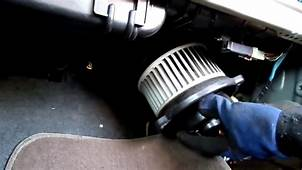 Service Manual How To Change Blower Motor On A 2010 Land