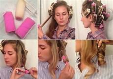 lockenwickler lange haare volumen moderne frisuren