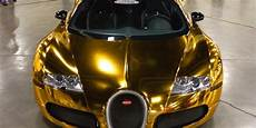 bugatti veyron gold wrapped for us rapper flo rida photos caradvice