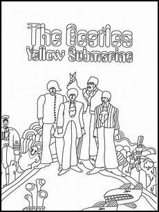 Malvorlagen Yellow The Beatles 10 Ausmalbilder Druckbare The Beatles