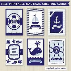 nautical birthday card template free printable nautical design greeting cards ayelet keshet