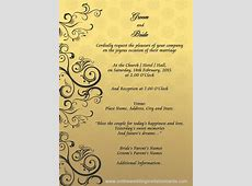 wedding invitation designs templates   Google Search (With