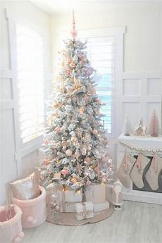 White Decorations For Tree by Pink Tree Decor Ideas Southern Living