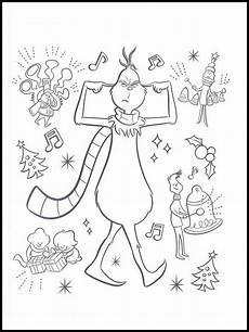 the grinch tekeningen 5 imagens colorir